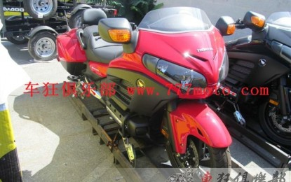 2013 Honda Goldwing F6B豪华版