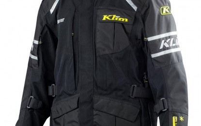 Klim Latitude Misano Black Jacket