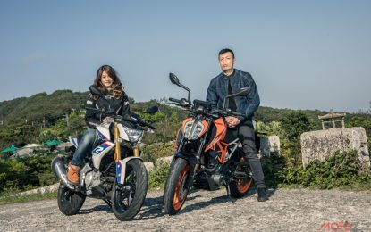 欧陆内战!KTM 390 DUKE VS. BMW G310R